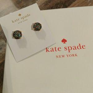 Kate Spade Multi Color Glitter Studs